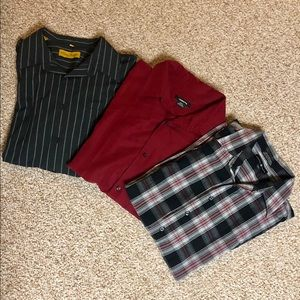 Dress Shirt Casual Button Down Bundle Size 2X
